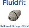 Fluidfit Bulkhead Union -- HMM -- View Larger Image