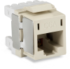 Office White CAT6A Unshielded RJ45 Keystone Jack -- FM10G23-R2 -- View Larger Image