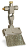 """Angled Valve Brush, 2 1/4"""" X 3/8"""" Flat Stainless Steel, 1/4"""" OD Tube Inlet -- B310-1X01 -- View Larger Image"""