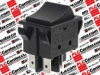 APEM COMPONENT R2101C2NBB ( SWITCH, ROCKER, DPST, 16A, 250V, BLACK; ILLUMINATION:NON ILLUMINATED; CONTACT CONFIGURATION:DPST; SWITCH OPERATION:ON-OFF; ACTUATOR / CAP COLOUR:BLACK; SWITCH MOUNTING:P... -Image