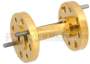 WR-10 45 Degree Waveguide Right-hand Twist Using a UG-387/U-Mod Flange And a 75 GHz to 110 GHz Frequency Range -- SMW10TW1003 - Image