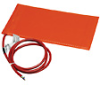 Silicone Heating Blanket w/ Adhesive, for metal, 12x24