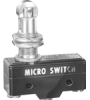 MICRO SWITCH BZ Series Premium Large Basic Switch, Double Pole Double Throw Circuitry, 15 A at 250 Vac, Roller Plunger Actuator, Screw Termination, Silver Contacts, UL, CSA, ENEC -- BZ-2AQ784T