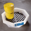 PIG Drum Spill Tray with Grate -- DRM371