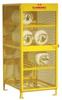 Steel Cylinder Storage Cabinet -- CAB357 -Image