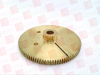 REXNORD W48B29-D100 ( PIN HUB WORM GEAR, BRASS, 2-1/8INCH ) -- View Larger Image