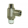 (Slotted/Screwdriver Adjustment) Brass Nickel Plated Body with Brass Release Ring, Inch only -- View Larger Image