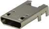 Interconnect > USB Connectors > Micro B -- UJ2-MIBH-4-SMT