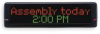 Message Display Sign -- 1XHP1
