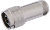 12 dB Fixed Attenuator, N Male to N Female Passivated Stainless Steel Body Rated to 2 Watts Up to 18 GHz -- PE7004-12 -Image