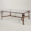 Wrought Iron Coffee Table -- FTA92