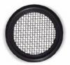EPDM Screen Sanitary Gasket, Size 40 SS Mesh, 3/4