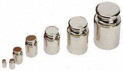 Calibration weights example