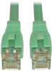 Augmented Cat6 (Cat6a) Snagless 10G Certified Patch Cable, (RJ45 M/M) - Aqua, 20-ft. -- N261-020-AQ - Image