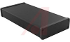 Enclosure; Extruded Aluminum; Plastic; 0.06 in.; Black Anodized -- 70166763