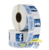 Like us on Facebook Labels - 1.5