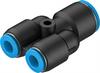 QSY-12-8 Push-in Y-connector -- 130612 -Image