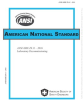 Laboratory Decommissioning -- ANSI/ASSE Z9.11-2016