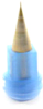 Fisnar 5901009 Micron-S Precision Micro Bore Nozzle Blue 150 µm Exit -- 5901009