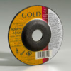 Light Grinding and Cutting - Gold Aluminum Oxide Abrasive