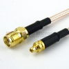 MMCX Plug to SMA Female Cable RG-316 Coax in 36 Inch -- FMC0913315-36 -Image