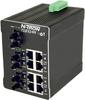 711FX3 HV Managed Industrial Ethernet Switch, ST 40km