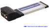Single RS-232 Serial Port ExpressCard Adapter -- ECS120