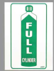 PRINZING Full Cylinder Magnetic Safety Sign -- 1126601