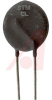 Thermistor; 10 Ohms @ 25 C; 5 Arms (Max.) Steady State; -55; +175; 18 Lead Dia. -- 70181341 - Image