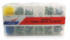 Sheet Metal Screw Asst,Pan,Zinc,365 PC -- 2NRZ8