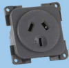 Australian Black 10A/250VAC Socket -- 88052060