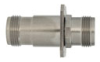 5303-067 Coaxial Adapter, Square Flange Mount (Type N, 6 GHz) - Image