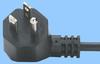 North American Cordset w/Angled NEMA 5-15 Plug -- 86420115
