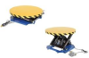 Powered Lift Table With Manual Carousel -- HHST-40-ST -Image