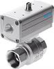 VZPR-BPD-22-R14 Ball valve with drive unit -- 540510