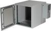 12U NEMA12 Wallmount Cabinet w/ 800-BTU AC DBL Hinged Beige -- RMW5110AC-R2 -- View Larger Image