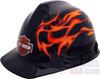 Harley-Davidson 4Pt Ratchet Suspension Hard Hat Black -- HDHHAT10