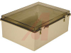 Enclosure; ABS/PC Blended Plastic; Polycarbonate Cover; Clear; NEMA -- 70148566