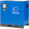 Lubricated Rotary Screw Air Compressor -- QGS