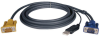 USB (2-in-1) Cable Kit for NetDirector KVM Switch B020-Series and KVM B022-Series, 19-ft. -- P776-019 - Image