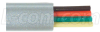4 Conductor Flat Modular Cord (PVC), 100 ft Coil -- TDB4-100