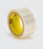 3M Scotch 375 Box Sealing Tape Transparent 48 mm x 50 m Roll -- 375 48MM X 50M TRANSPARENT -Image