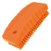 nail brush w/stiff bristle orange -- 61584 -- View Larger Image