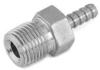 Parker 2-2 316 Stainless Steel Barb Connector To Male Pi… -- 2-2 B2HF-SS - Image