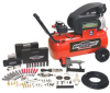Speedway 8-Gallon Portable Air Compressor W/ 77 Piece Kit -- Model 6909