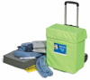 PIG Spill Kit in High-Visibility Pull Cart -- KIT284