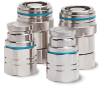 Non-Drip Stainless Steel Couplings -- Series 777 -- View Larger Image