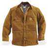 Coat,2XL,Brown,Button -- 3MAJ8