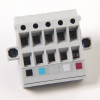 DNet Open Style 10 Position Connector -- 1787-PLUG10R -Image