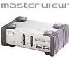 2 Port KVMP / 2 Port USB Hub including 2 Cables -- CS-1732C - Image